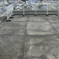 屋上防水工事、施工